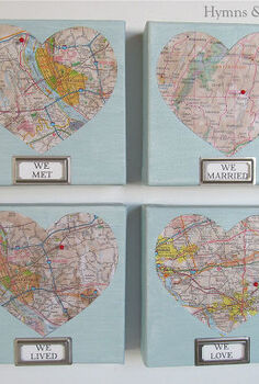 we met we married we lived we love map art, crafts, valentines day ideas, We Met We Married We Lived We Love Map Art