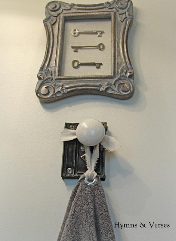 Old Door Knob Hardware Hand Towel Holder Bathroom Ideas Doors Home Decor