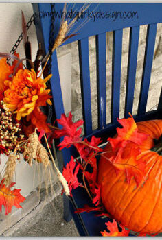 there is nothing like fall celebrate by decorating your porch, outdoor living, porches, seasonal holiday decor