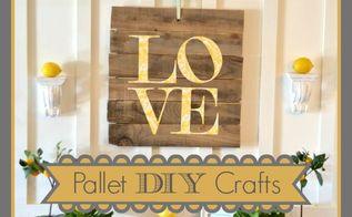 pallet craft, crafts, pallet, repurposing upcycling