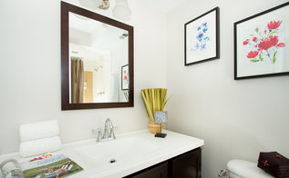 home staging 101 use white linens amp towels they send a message of cleanlines, real estate, Bathroom Staging by No Vacancy Atlanta GA