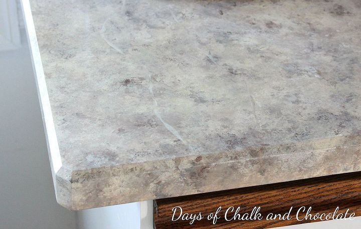 how to paint over laminate countertops
