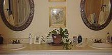 a simpler bath renovation replace renew refresh, bathroom ideas, home decor, Before