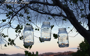 diy mason jar manicure kit and lantern, crafts, mason jars, outdoor living, repurposing upcycling, A HUGE thank you to my husband for helping me set up the tripod so I could capture this shot
