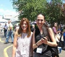 country living fair in new york, Sarah and Miriam