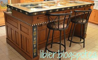 i turned an antique desk into an island i think you will be surprised, kitchen design, kitchen island, painted furniture, repurposing upcycling