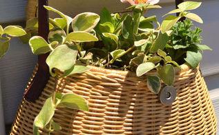 junky deck decor, decks, flowers, gardening, repurposing upcycling
