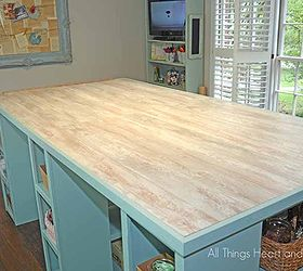 High Quality Diy Craft Room Table Guess What The Top Is Made Of, Craft Rooms, Diy