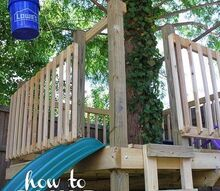build a tree house, outdoor living
