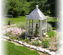 my garden cupola, gardening, repurposing upcycling