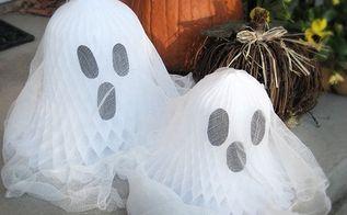 last minute halloween country living inspired five minute ghosts, halloween decorations, seasonal holiday d cor, Fun and easy last minute Halloween decorations Find directions here