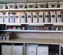go big or go home was my motto for my craft room makeover, cleaning tips, closet, craft rooms, home decor, storage ideas