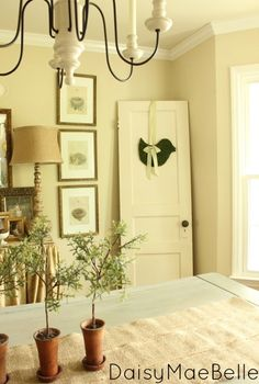 decorating with old doors and how to make a moss bird, dining room ideas, home decor, repurposing upcycling