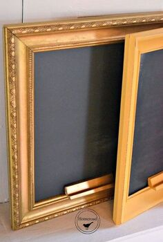 easy diy chalkboards with an amazing tip, chalkboard paint, crafts