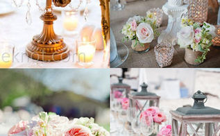 how to create a romantic wedding centerpiece, crafts, flowers, gardening, home decor, hydrangea