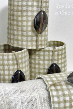 napkin rings made from toilet paper rolls, crafts
