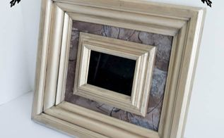 turning old picture frames into wall decor, home decor, repurposing upcycling