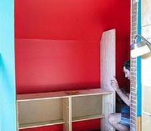 ikea rast hack for shared kids closet, bedroom ideas, closet, diy, woodworking projects, The beginning of the build