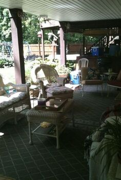 my indoor outdoor space, decks, outdoor furniture, outdoor living