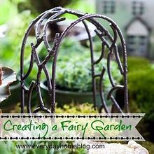 creating a fairy garden, crafts, gardening