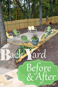 back yard makeover, diy, gardening, how to, landscape, outdoor living, Ever started one project that gave birth to 37 more projects That s what this back yard project did