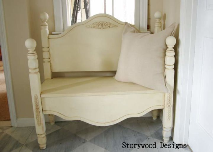 A Headboard Bench With A Story To Tell Hometalk
