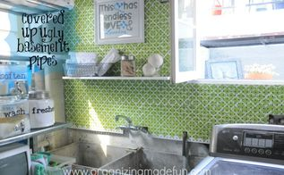 laundry room decor for 30 or less, home decor, laundry rooms, Good Looking and Organization Friendly Laundry Room Decor via Organizing Made Fun