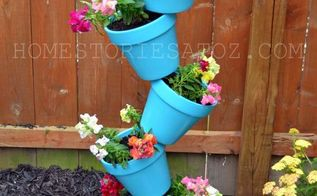 i made this topsy turvy planter birdbath and i show you step by step how to create, gardening, DIY Garden Planer Bird Bath