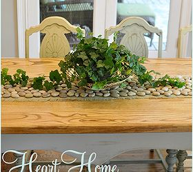 Diy Stone Table Runner, Crafts, Home Decor, The Stone Table Runner Adds A