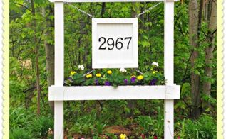 diy house number sign tutorial, diy, gardening, how to, woodworking projects, Entrance After