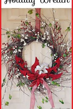 diy holiday wreath one wreath for all seasons, christmas decorations, crafts, seasonal holiday decor, wreaths