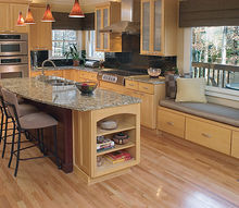 the contemporary kitchen everyone on facebook loves, doors, home improvement, kitchen backsplash, kitchen design, kitchen island, Kitchen Renovations By AK