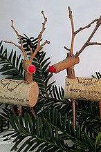 twig amp cork reindeer, crafts, home decor, seasonal holiday decor, wreaths