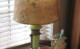 our anniversary find two vintage lamps, home decor, lighting