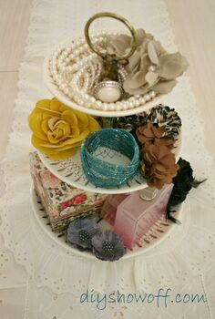 just wanted to share i did some organizing and gave a 2nd guest bedroom some, home decor, organizing, repurposing upcycling, thrift store tiered candy dish holds favorite accessories