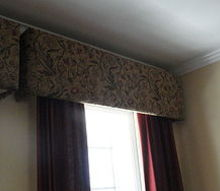 diy cornices using online instructions, crafts, windows, DIY Cornice Boxes
