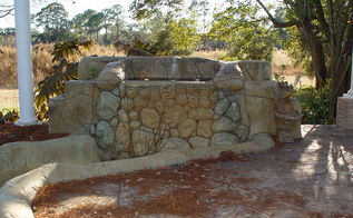 replacing pondless waterfall, outdoor living, ponds water features, front view