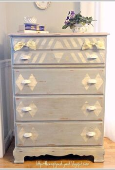 1970 s maple dresser refashioned with annie sloan chalk paint even painted the, chalk paint, painted furniture, 1970 s maple dresser refashioned with Annie Sloan chalk paint even painted the metal pulls