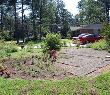 my latest front yard project, concrete masonry, diy, gardening, landscape, outdoor living, patio, My new patio