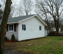 ranch flip brockton ma, curb appeal, home improvement, home maintenance repairs, windows, New siding on gable