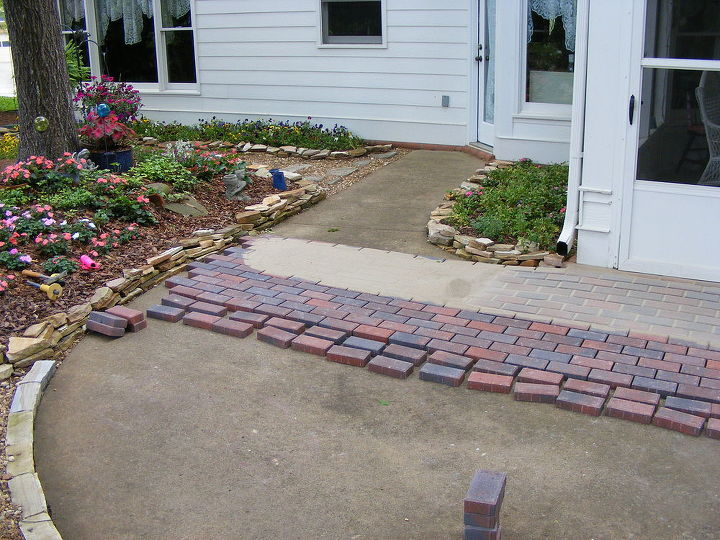 Installing Pavers Over Your Existing Patio Is A Great Way To Change The Look Of