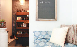 a little bit of a summer home tour, home decor, Sitting room and hallway