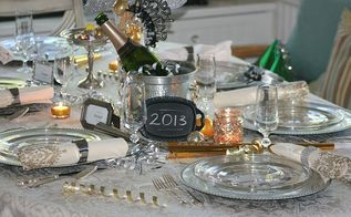 a new year s eve dinner, seasonal holiday decor