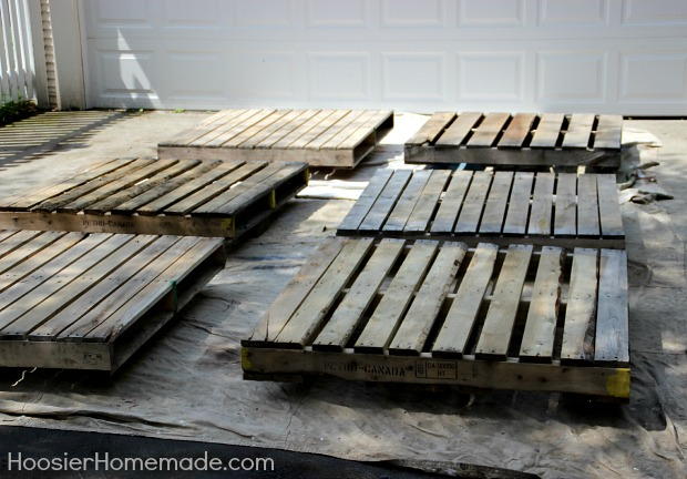 How To Build A Wood Pallet Deck Hometalk