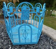 another garage sale find 3 00, gardening, outdoor living, repurposing upcycling, All metal