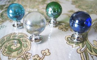 do you like glass knobs or do you prefer all metal wood