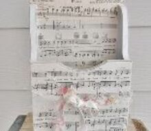 valentine or wedding love note box, crafts, valentines day ideas