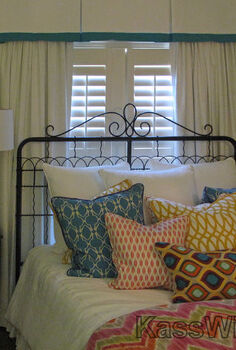 the little princess grows up, bedroom ideas, home decor, She wanted bold patterns and SPLASHES of color