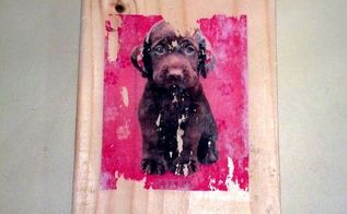 color image transfer to wood, crafts, home decor, pallet