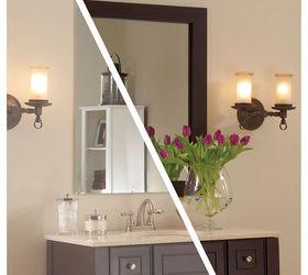 Framing A Plate Glass Bathroom Mirror With Mirrormate Frames, Bathroom  Ideas, Home Decor,